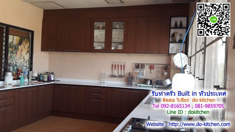 รับBuilt-in ห้องครัว คุณภาพห้าง ราคาถูก เคาน์เตอร์ครัว