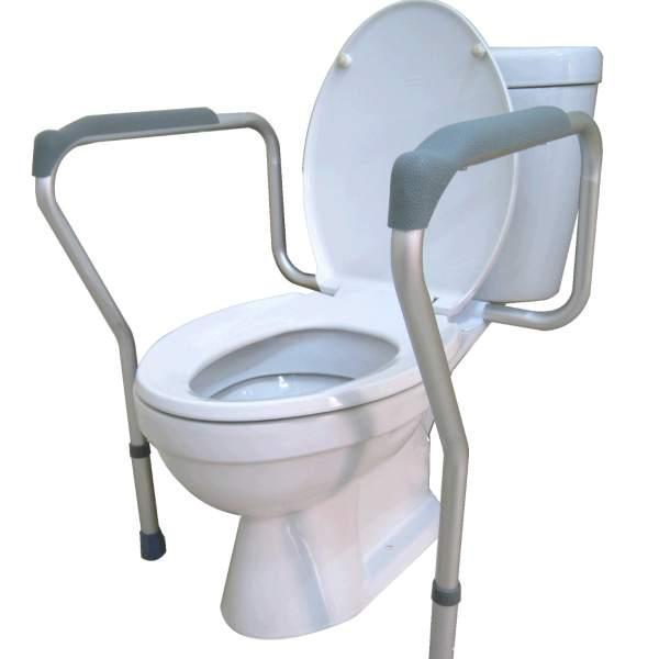 qSENIOR ราวพยุงตัวห้องน้ำ สำหรับโถสุขภัณฑ์นั่งราบ ผู้สูงอายุ