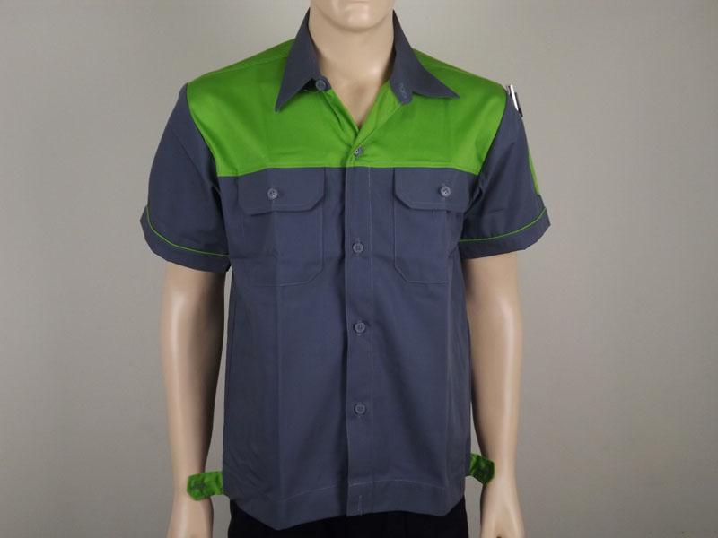 เสื้อช่างหรือเสื้อช็อปสำเร็จรูปพร้อมใช้งานสำหรับชายหญิง