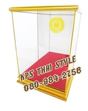 ผลิตตู้กระจกครอบพระ กรอบครอบพระบูชา  0809842756 สิทธิ์