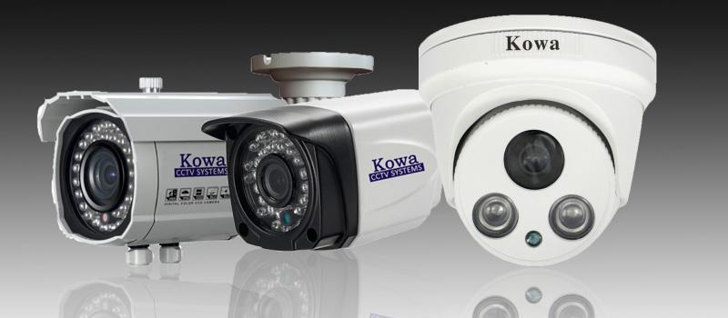 จำหน่ายกล้องวงจรปิด KOWA ปลีก-ส่ง รับออกแบบ ติดตั้ง ซ่อมแซม