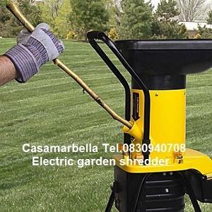 เครื่องย่อยกิ่งไม้ ใบไม้ Talon Electric garden shredder เครื