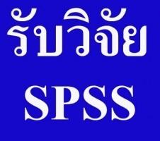 รับวิเคราะห์ข้อมูล SPSS ด่วน เร็ว มีคุณภาพ เชื่อถือได้ รับทำ