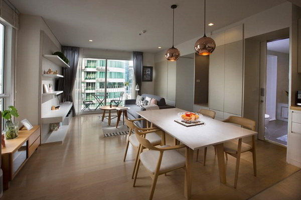 FOR RENT HQ THONGLOR 1 BEDROOM 52 SQM. 55,000 THB
